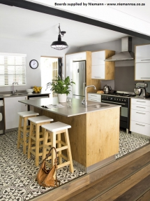 24 Polygloss Icy White & Textured Pale Oak